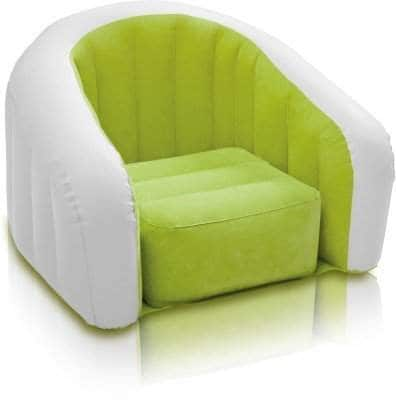 Intex Inflatable Air PVC Junior Cafe Club Chair - Color May Very