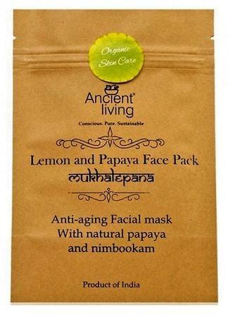 Ancient Living Lemon & Papaya Face Pack
