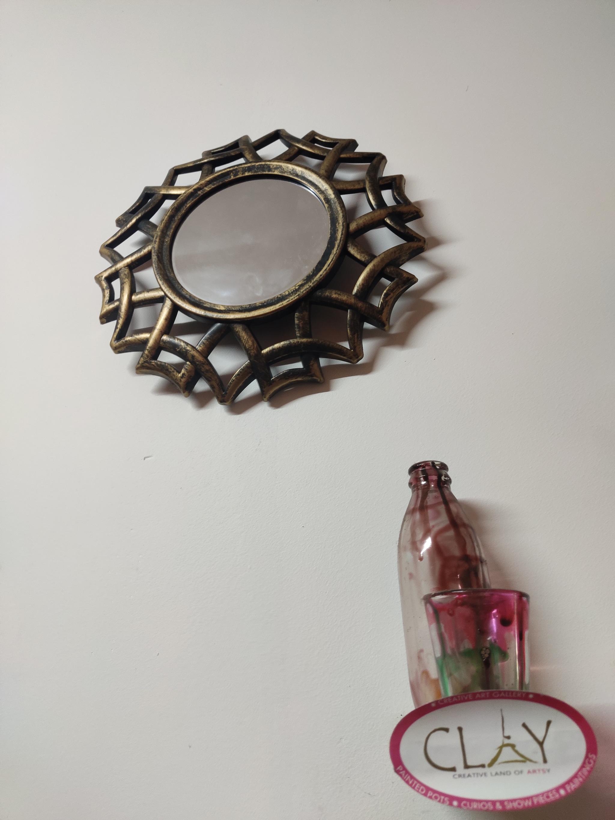 Rustic Finish Mirror