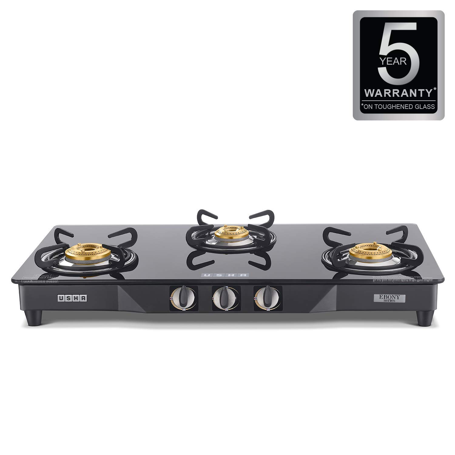 Usha EB GS3 001 Cooktop Ebony 3001 (Black)