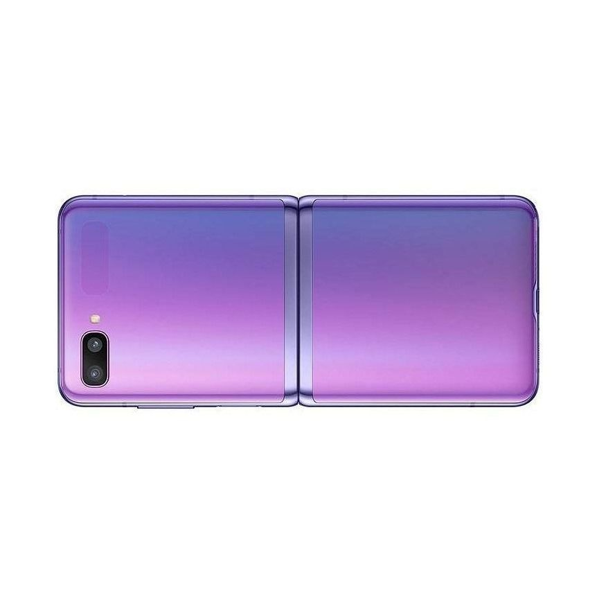 Samsung Galaxy Z Flip Compatible Full Body Replacement Housing - Purple