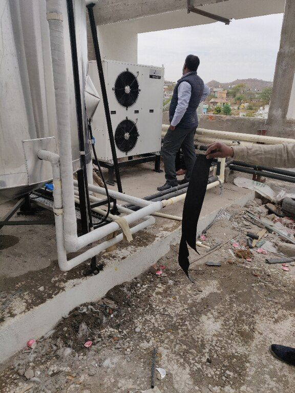 Heat Pumps For Hotel