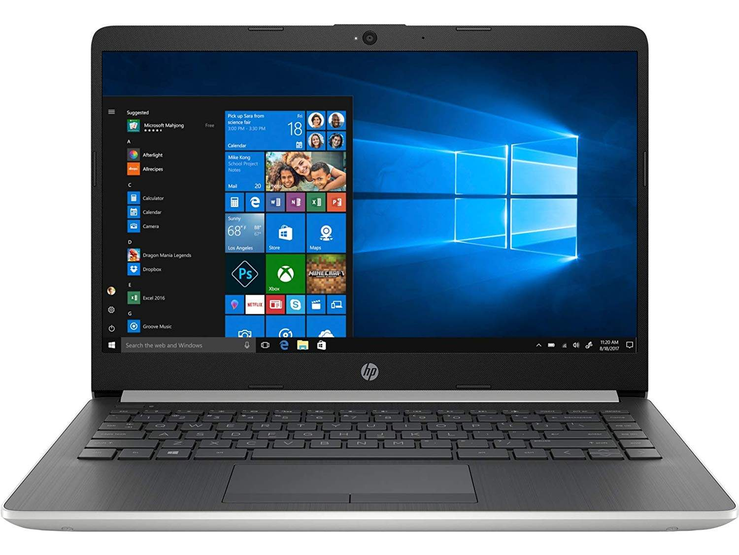HP 14 Inch 14s-cs1000tu Core I5 8th Gen FHD Laptop (8GB/1TB HDD/Win 10/Integrated Graphics/MS Office/Natural Silver)