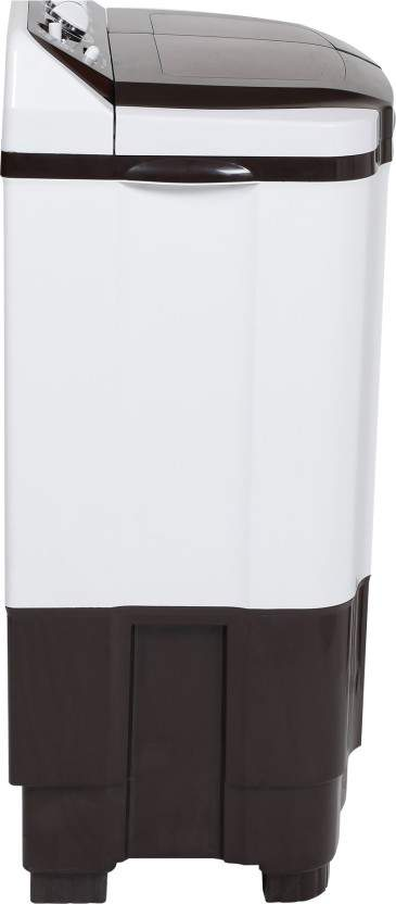 Haier 8.2 Kg Semi Automatic Top Load Washing Machine Brown, White (HTW82-185VA)