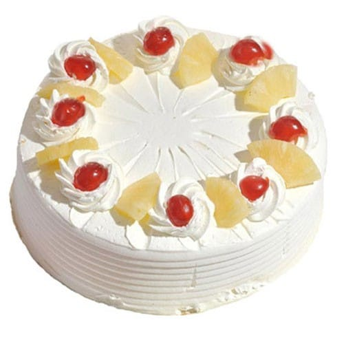 Pineapple Cake - FFCA00PA (Standard (09:00,12:00),Regualr with egg,1.0 Kg)