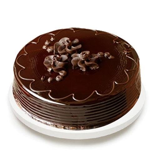 Chocolate Truffel Cake - FFCA00CT (Standard (15:00,18:00),Regualr with egg,0.5 Kg)