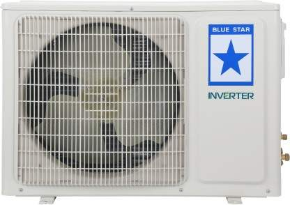 Blue Star 1.5 Ton 5 Star Split Inverter AC White(5HNHW18PAFU, Copper Condenser)