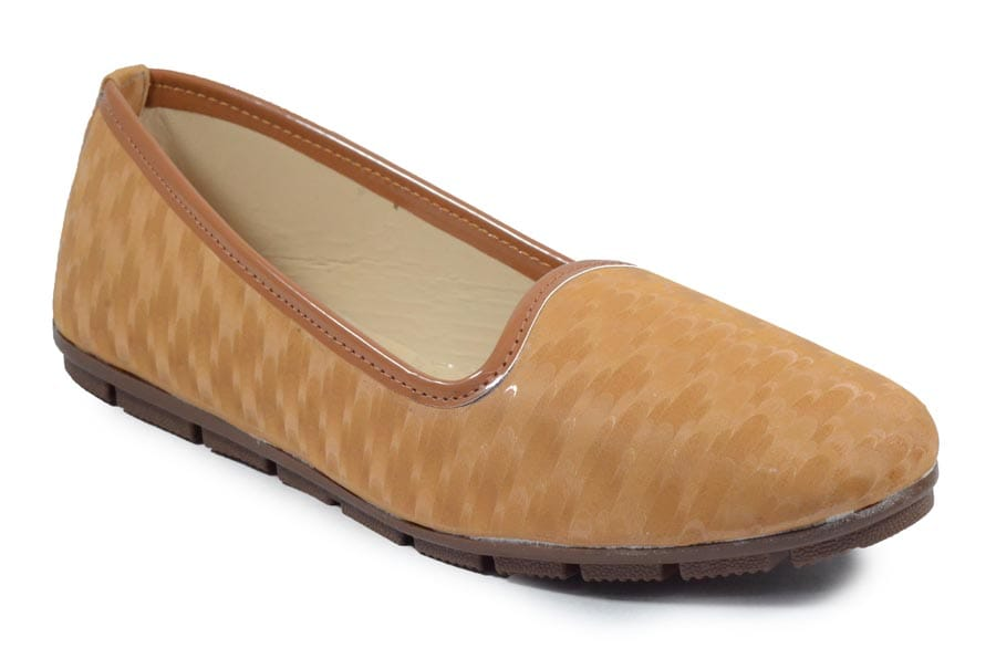 OLADIN-WOMEN'S-STYLISH-AND-FASHIONABLE--BELLY STYLISH-BELLY-08 (TAN,7-9-10-11,4 PAIR)