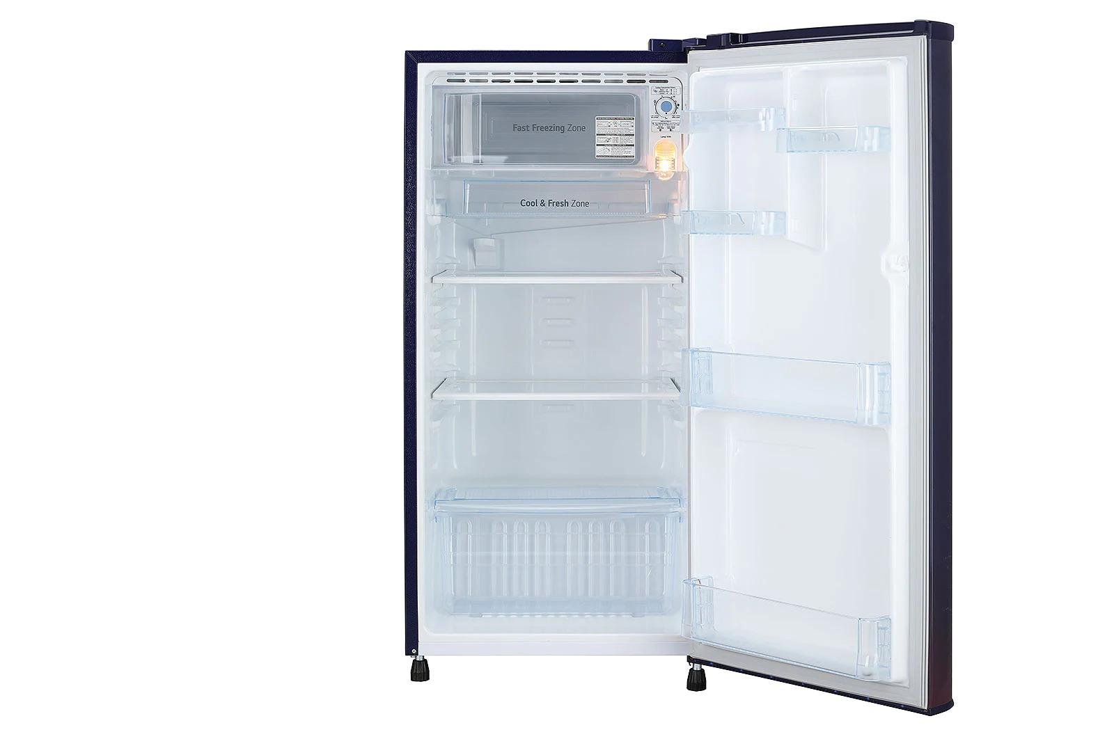 LG (GL-B191KBPD) 188 L, Fastest In Ice Making, Toughened Glass Shelves