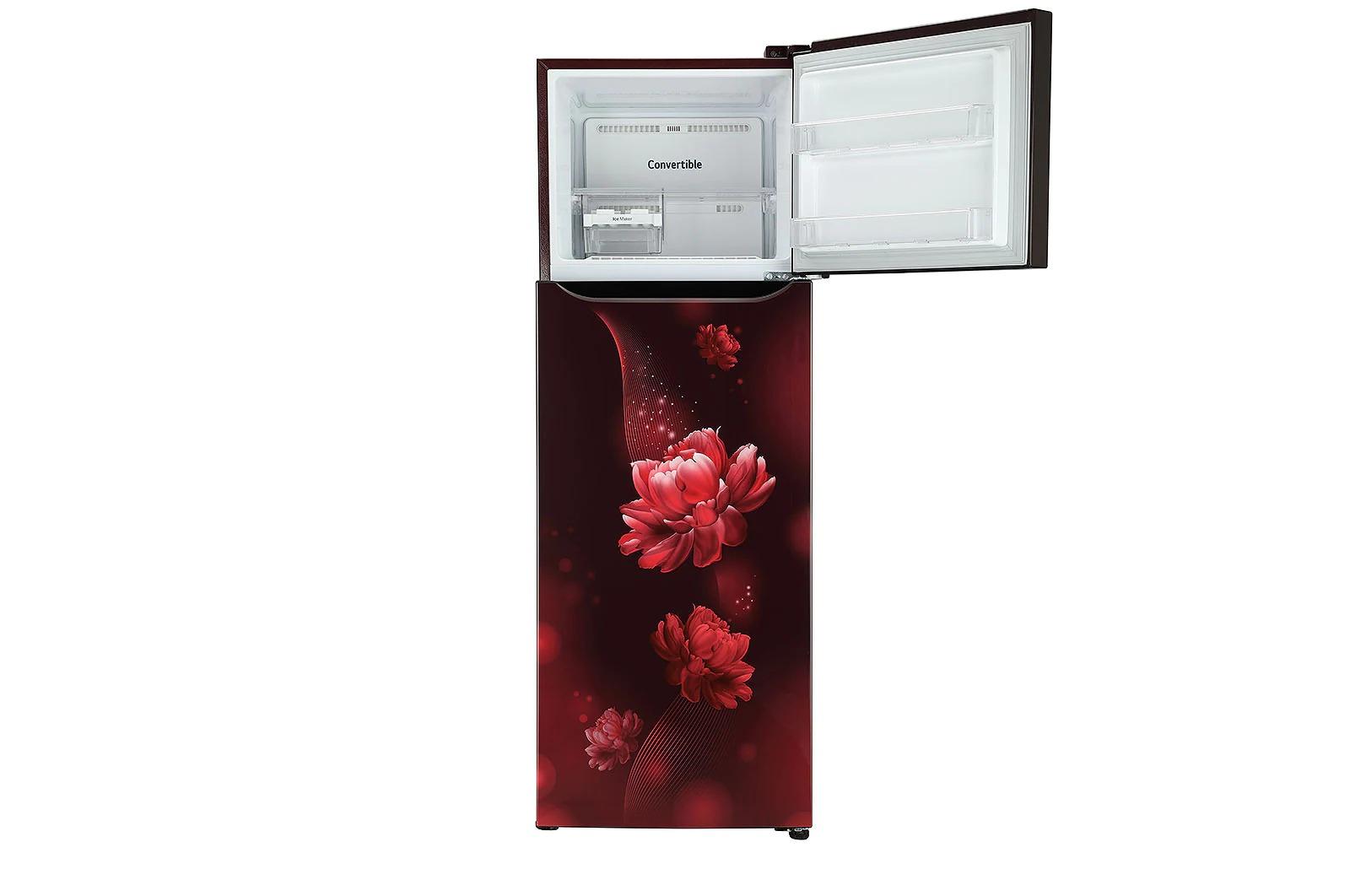 LG (GL-T322SSCY) 308 Litres ConvertiblePLUS Fridge With Smart Inverter Compressor , Door Cooling+™, Smart Diagnosis™, Auto Smart Connect™