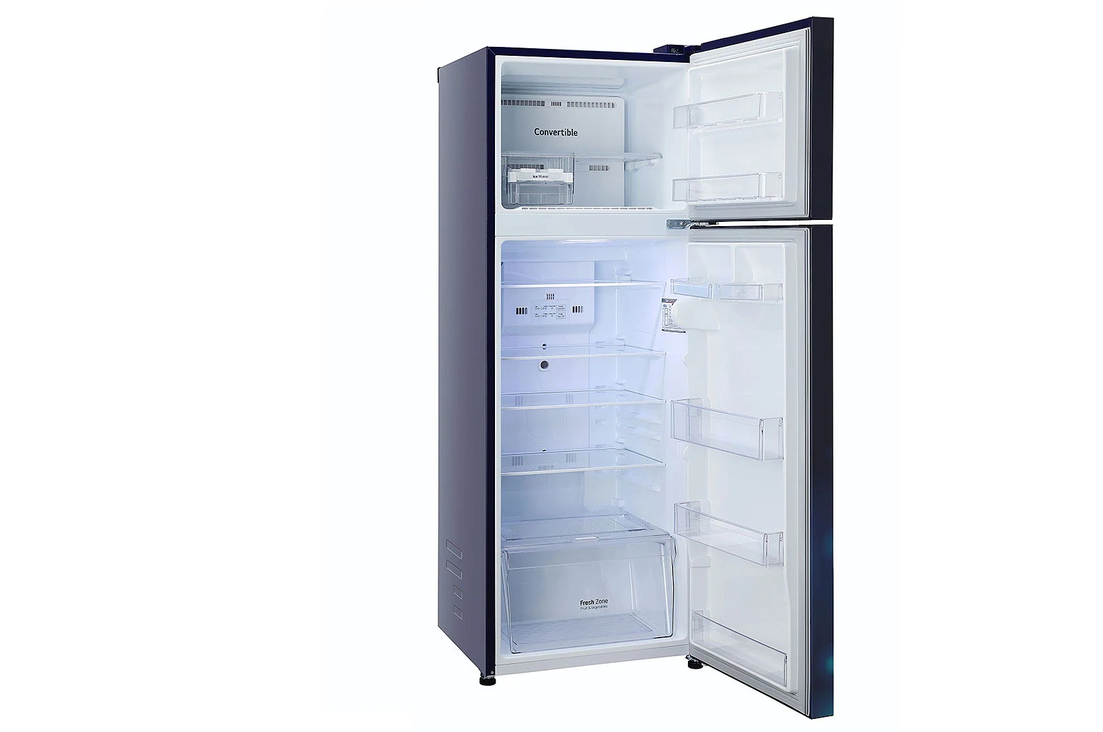 LG (GL-T322SBCY) 308 Litres ConvertiblePLUS Fridge With Smart Inverter Compressor , Door Cooling+™, Smart Diagnosis™, Auto Smart Connect™