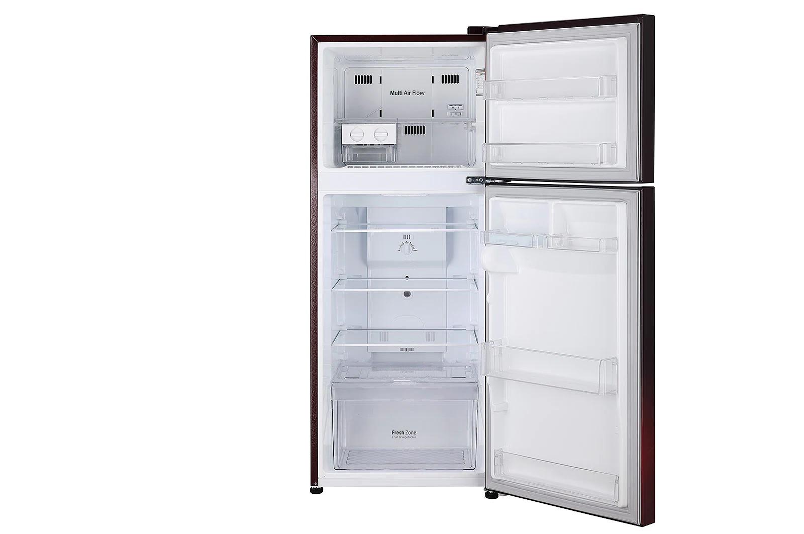 LG (GL-N292DSPY) 260 Litres Frost Free Refrigerator With Smart Inverter Compressor, Multi Air Flow, LED Lighting, MOIST 'N' FRESH