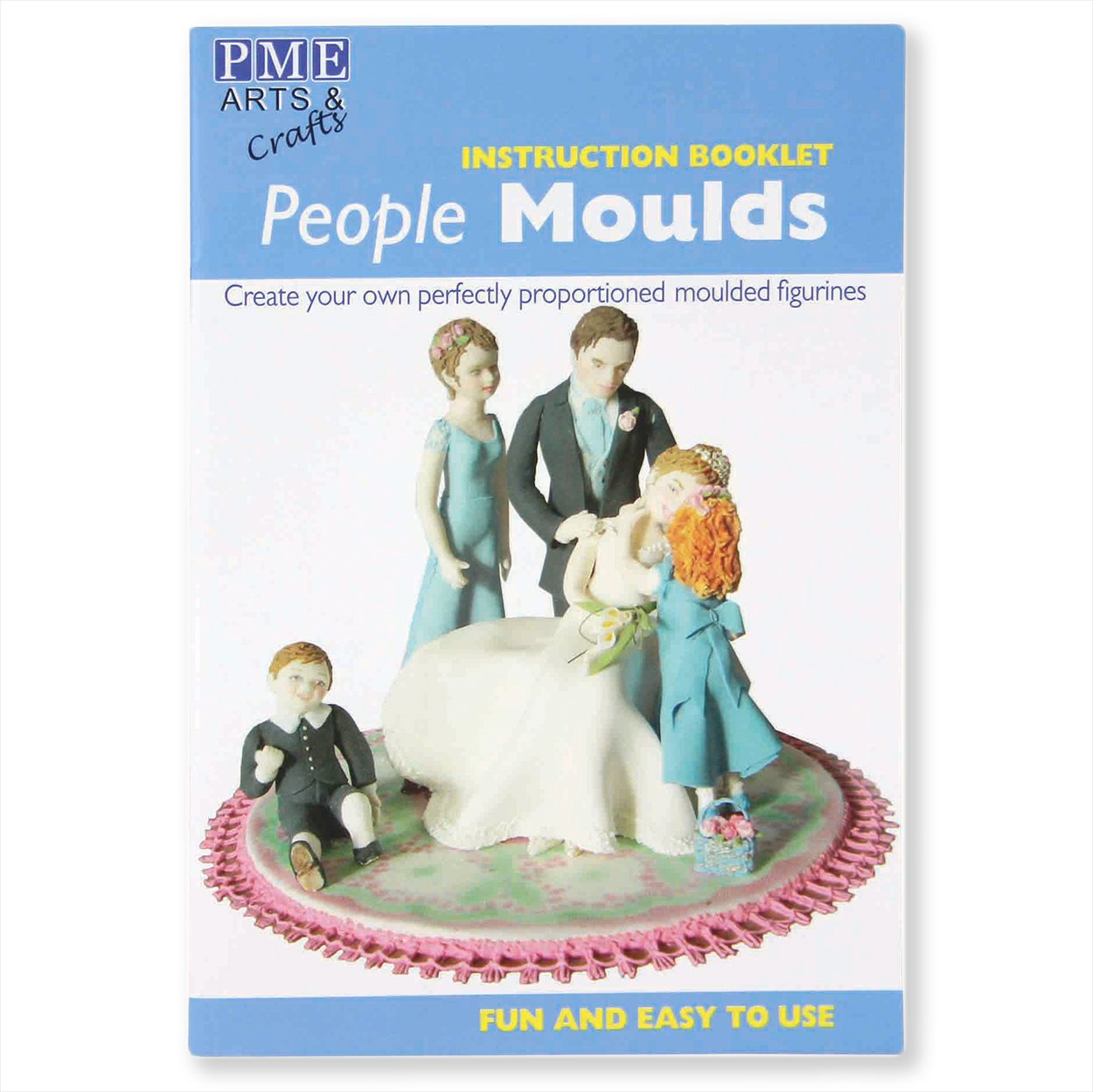 People Molds Family Of Four Sugar Craft Cutter Mold.