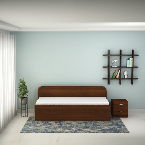 Godrej Diwan Single Size Bed With Storage
