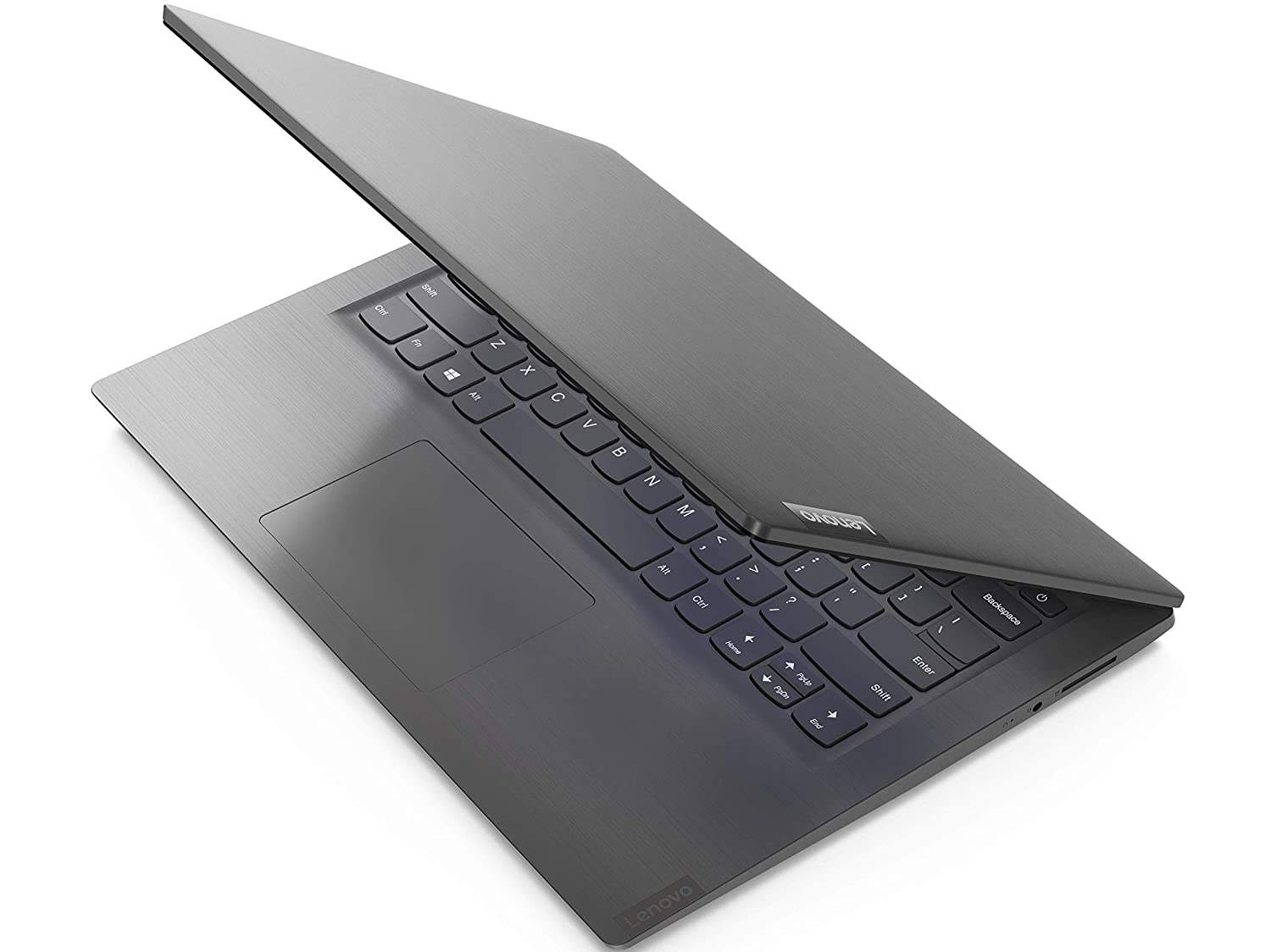 Lenovo V14 Intel Core I3 8th Gen 14- HD Thin And Light Laptop (4GB RAM/ 256GB SSD/ DOS/ Grey/ 1.6 Kg) 81YA002VIH [B086XSKF9S]