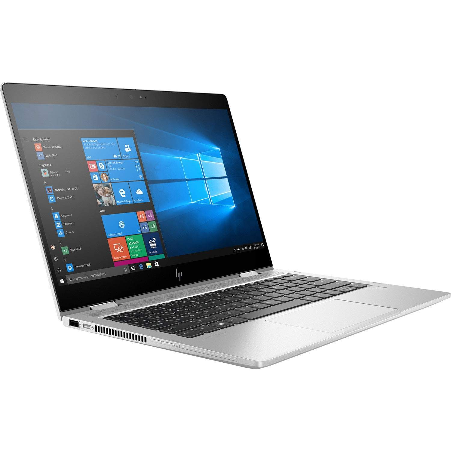 HP Elitebook X360 830 G6 13.3- Laptop (8th Gen Core I7-8550U/8GB/512GB SSD/Windows 10 Pro/Intel UHD620 Graphics), Silver [B088266T5T]