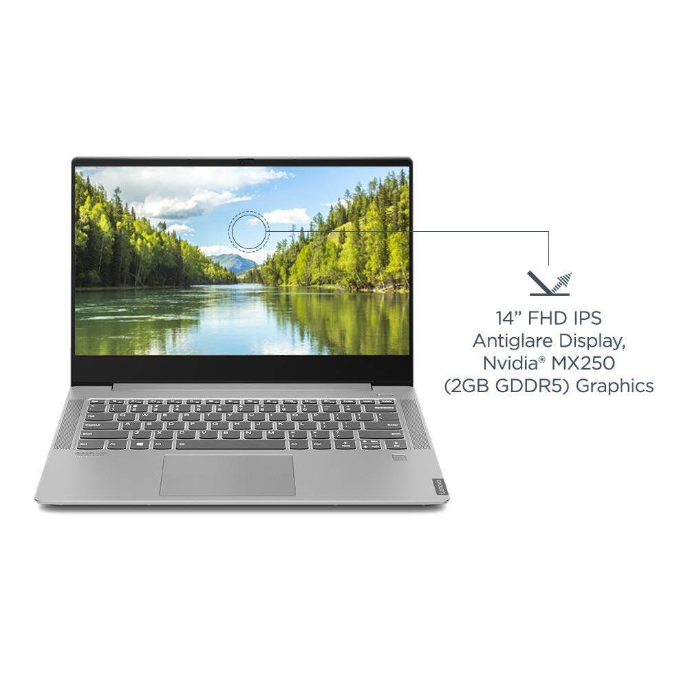 Lenovo Ideapad S540 Intel Core I5 8th Gen 14 FHD Thin And Light Laptop (8GB/1TB SSD/Windows 10/Office 2019/NVIDIA MX250 2GB/Grey) 81ND00FSIN [B084MW3GL2]