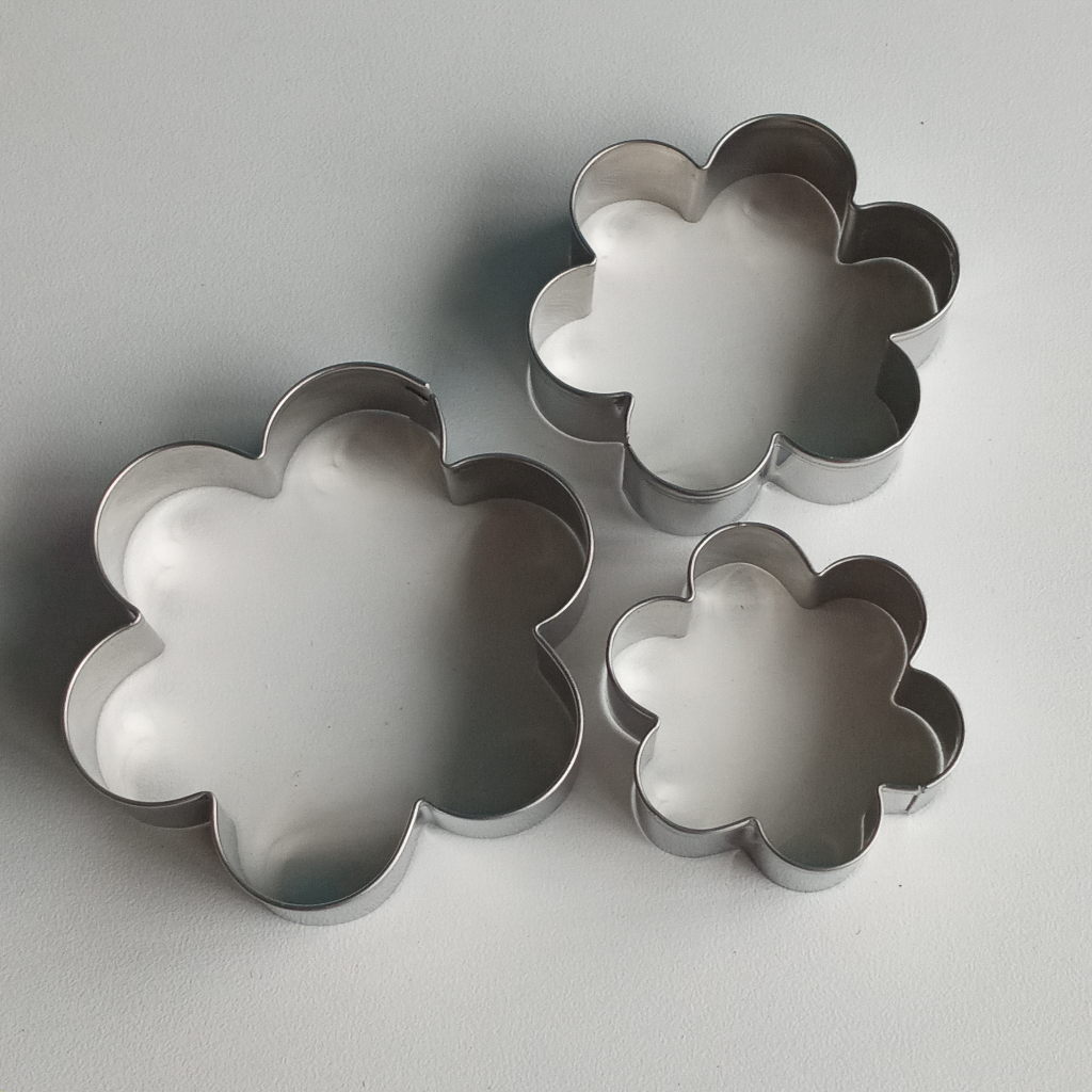 SS Large Blossoms Cookie Cutter (3in1)