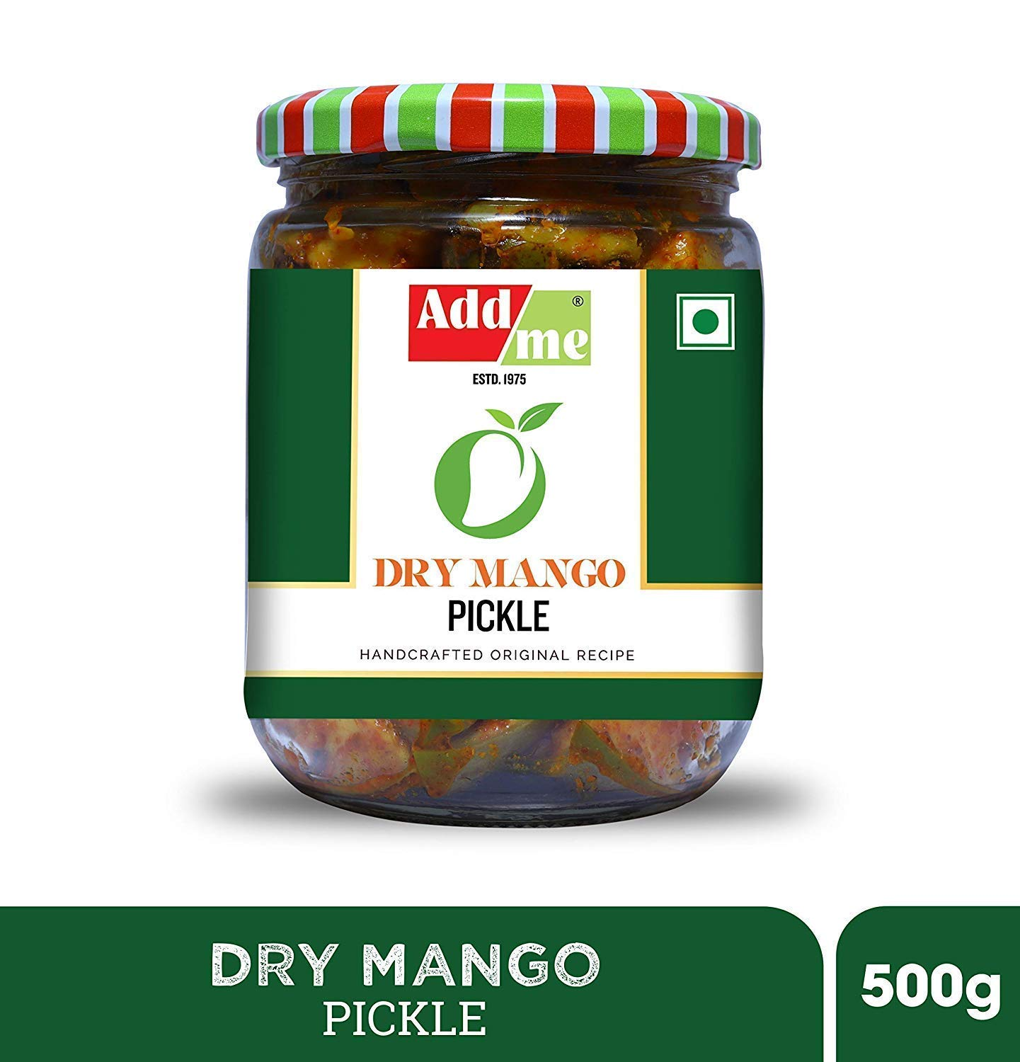 Add Me Home Made Dry Mango Pickle 1kg Aam Ka Achar Pickles Less Oil, ( 500 Gm + 500gm)