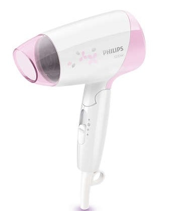 Philips EssentialCare Hair Dryer White And Pink [HP8120/00]