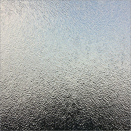 Radiant Frosted Building Glass