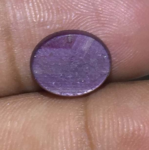 Natural Star Ruby Gemstone Oval Shape Cabochon