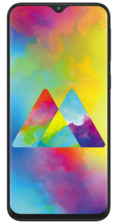 Samsung Galaxy M20 (3 GB RAM, 32 GB, Charcoal Black)
