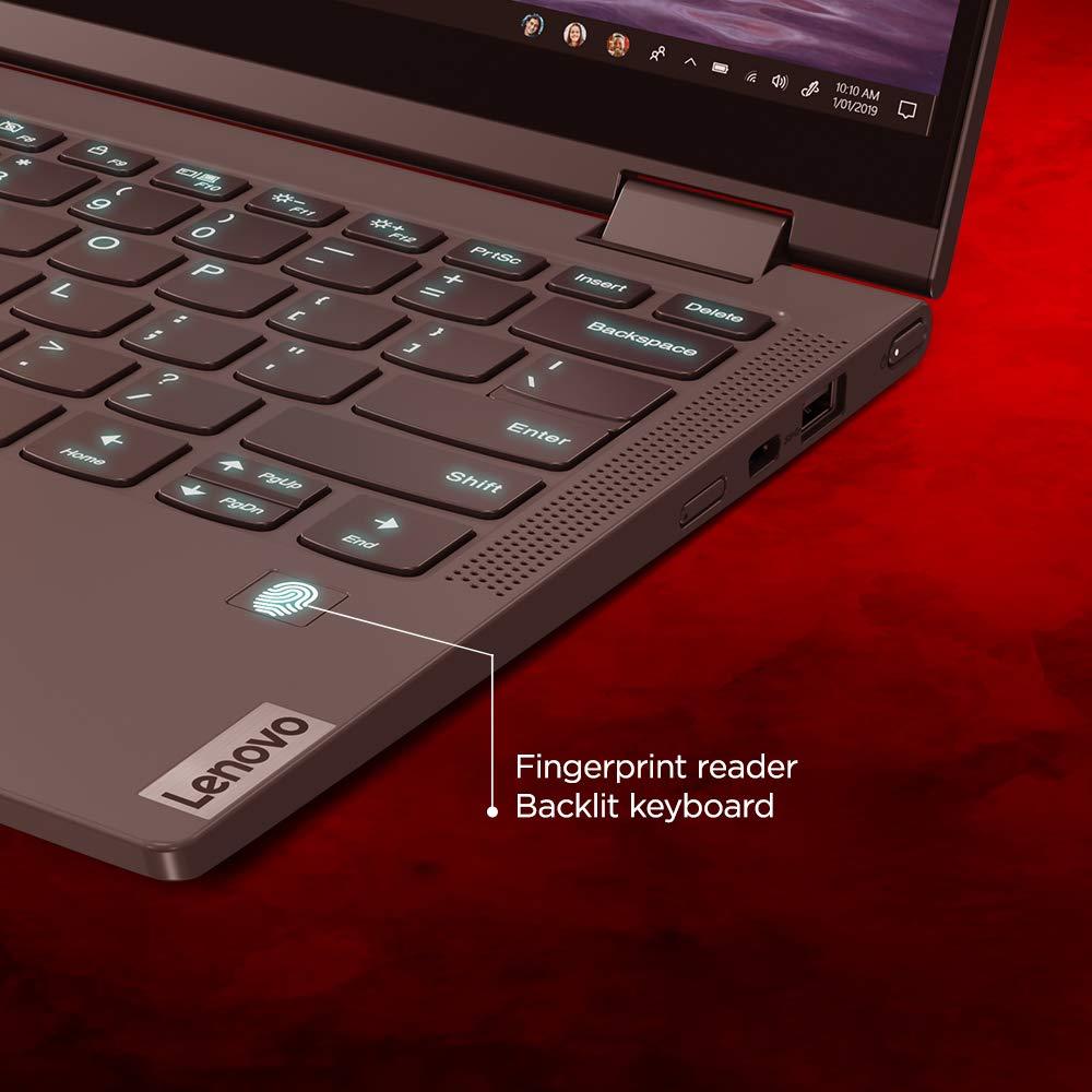 Lenovo Yoga C640 81UE0034IN 13.3-inch FHD IPS Convertible Laptop (10th Gen CORE I5-10210U/8GB/512GB SSD/Windows 10/Microsoft Office/Integrated Graphic