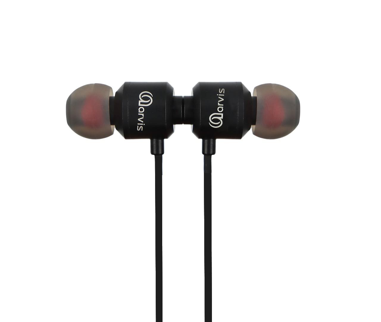 Aarvis Bluetooth Earphone AV-02 (Black)