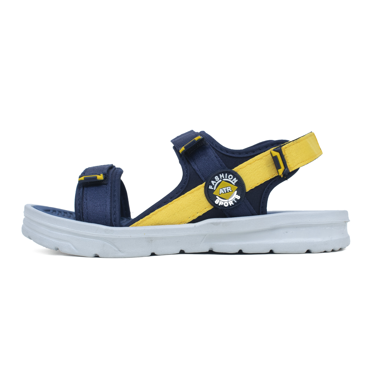 Foot Trends Vento--1 BK-RED 6-9 Sandal For Men Vento-1-BK-RED-6-9 (Yellow, 6-9, 4 PAIR)