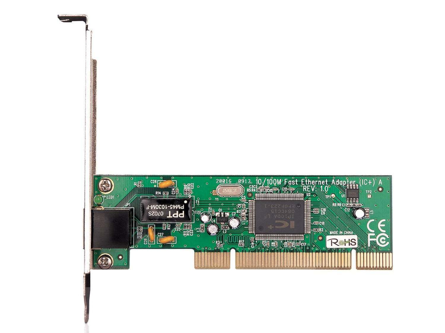10/100M PCI Network Interface Card LC Plus LP100A Chipset (TF-3200)