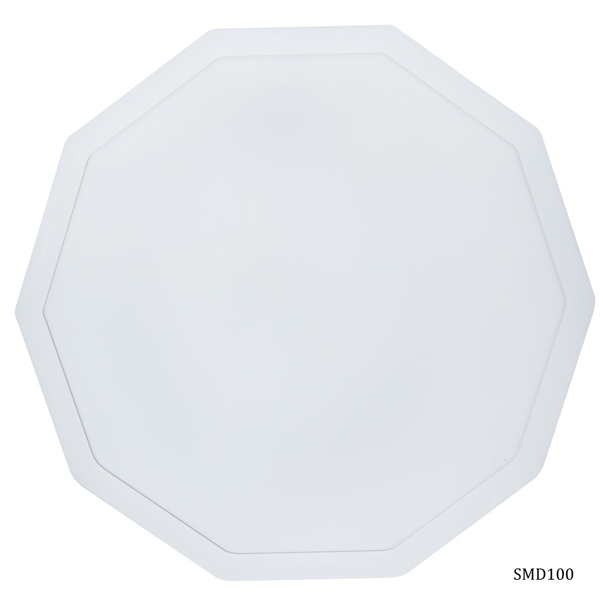 Silicone Mould Decagon 10 Curve Coaster (SMD100)