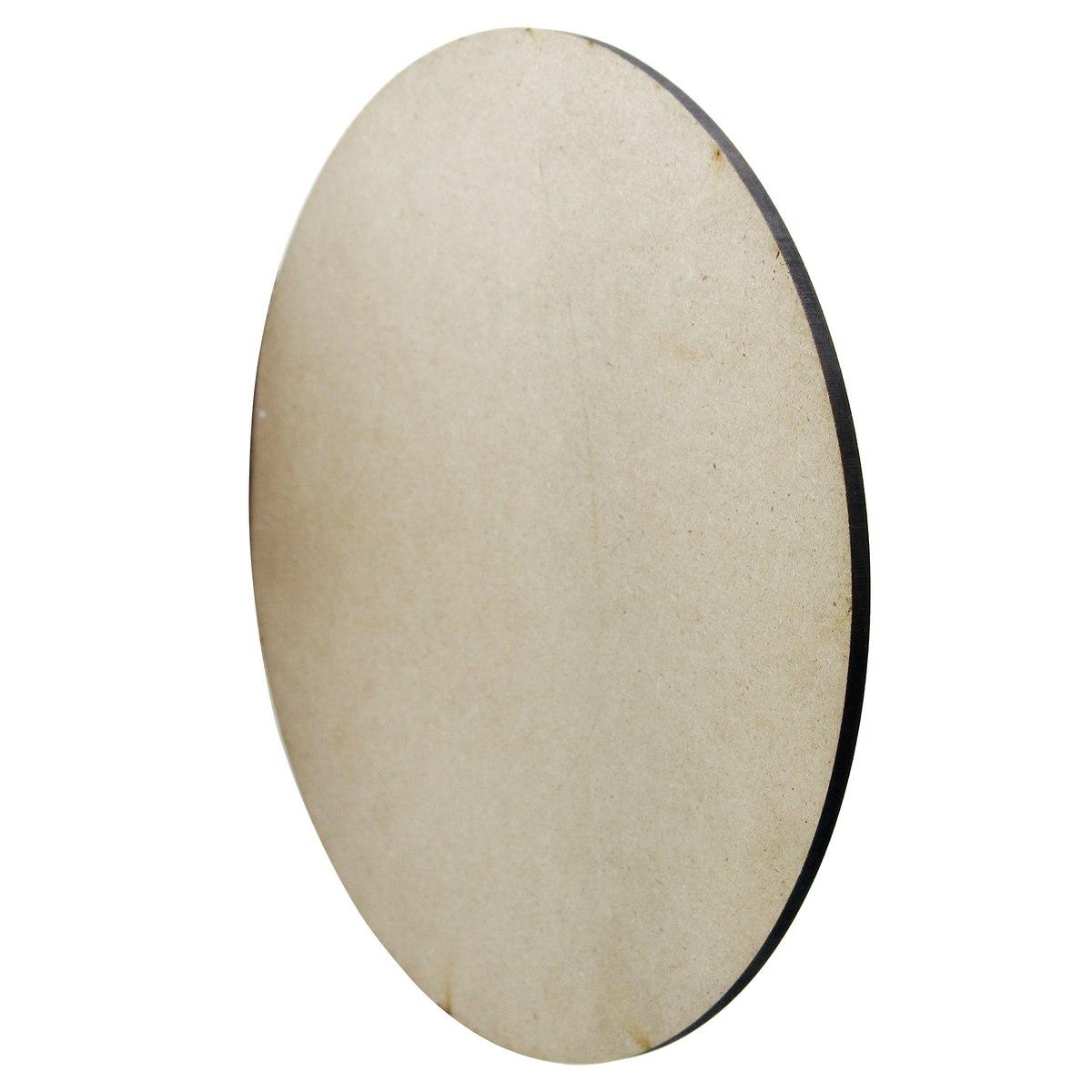 MDF Plate Round 4MM Size:12X12 Set Of 1 Pcs (MPR1200)