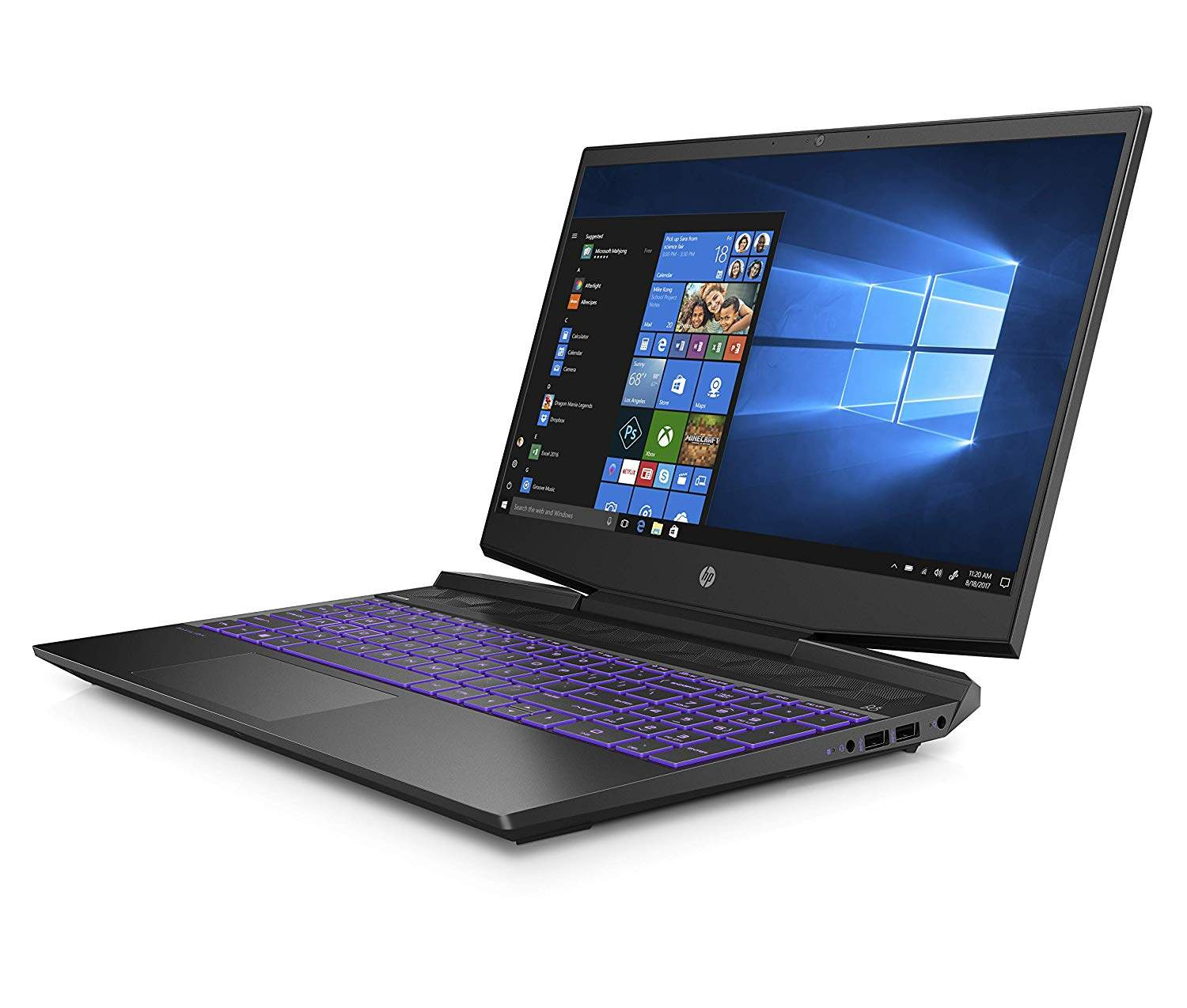 HP Pavilion 15-dk0045TX 2019 15.6- Gaming Laptop (9th Gen Core I5-9300H/8GB/1TB HDD + 256GB SSD/Windows 10/4GB NVIDIA GTX 1050 Graphics), Shadow Black