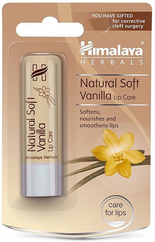 Himalaya Natural Soft Lip Care Vanilla 4.5 Gm