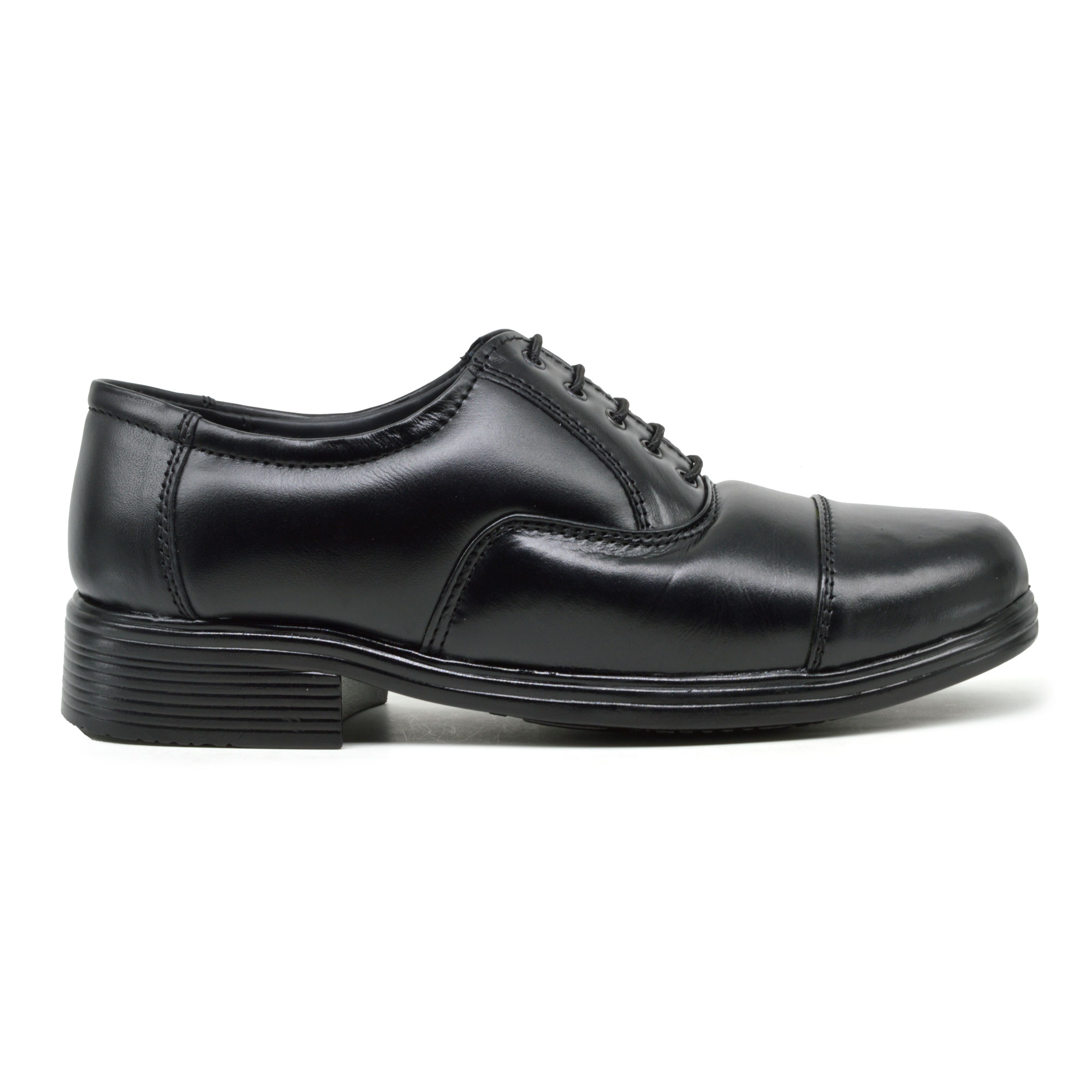 IMCOLUS214.302_BLACK SYNTHETIC LEATHER OXFORD POLICE SHOES FOR MEN AIRMIX SOLEIMCOLUS214.302_BLACK (BLACK,5-8,4 PAIR)