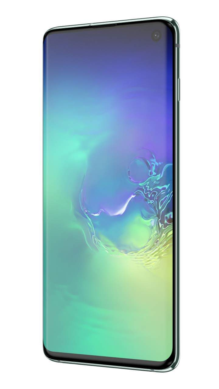 Samsung Galaxy S10 (RAM 8 GB, 128 GB, Prism Green)
