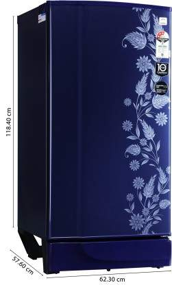 Godrej 190 L Direct Cool Single Door 3 Star Refrigerator(Royal Dermin, RD 1903 PT 3.2 DRM RYL)