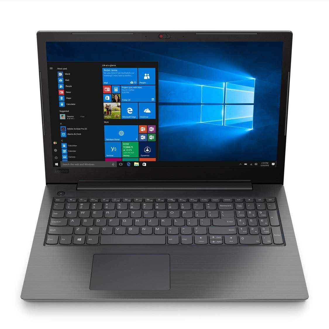 Lenovo V130 Intel Core I5 8Th Gen 15.6-Inch Full Hd Thin And Light Laptop (4Gb Ram/ 1 Tb Hdd/ Dos/ With Dvd Drive/ Grey/ 1.80 Kg), 81Hna019Ih
