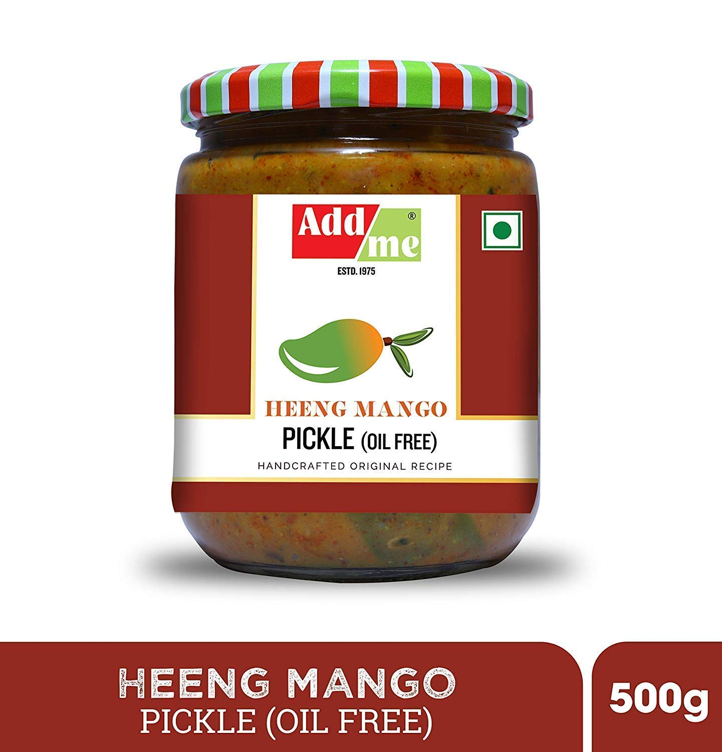 Add Me Heeng Mango Pickle Hing Achar Without Oil