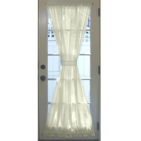 Husky Building Glass Door Panel