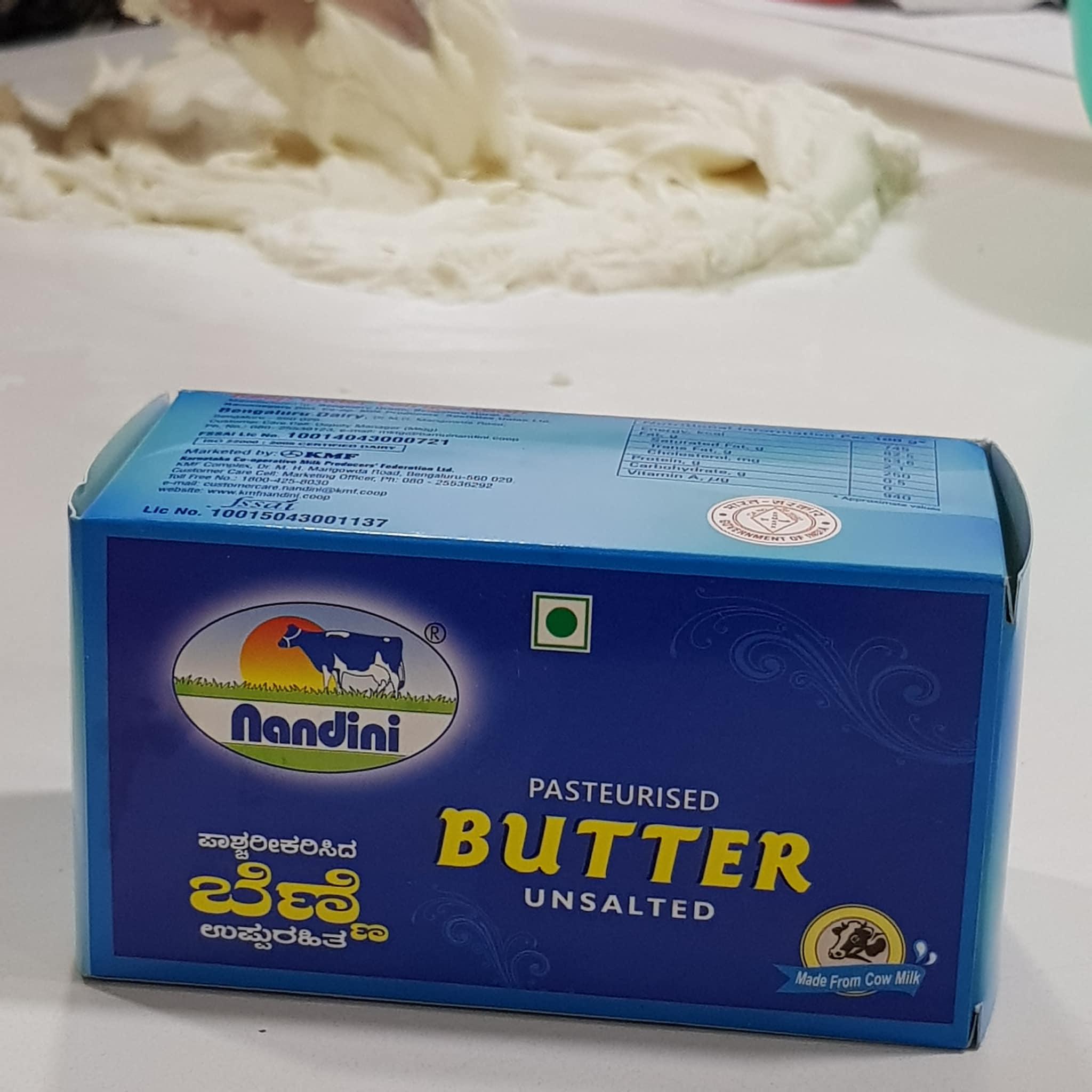 Nandini Butter Un Salted 500g