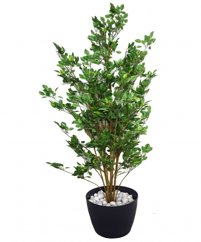 DECORATIVE POLYESTER ARTIFICIAL PEAR PLANT WITHOUT POT (150 CM, GREEN,) WP28