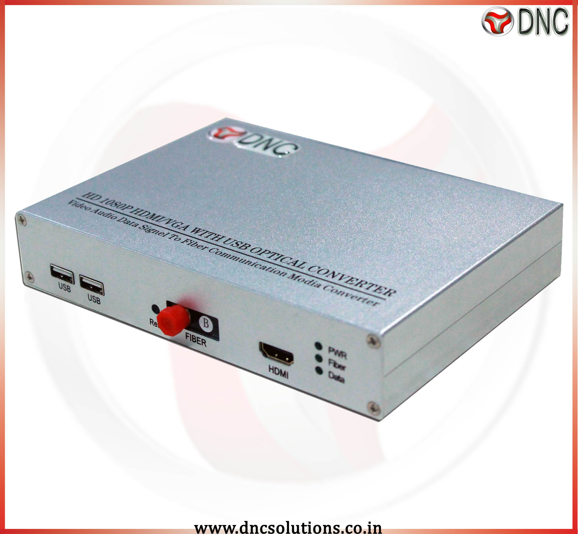 1 Channel  HDMI With USB To Fiber Converter