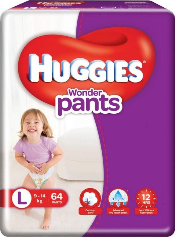 Huggies Wonder Pants - L Diaper 64 Pc