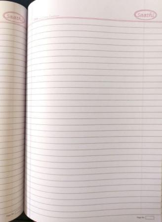Saathi A4 NoteBook 29.7x21 Cm Regular Notebook 400 Pages
