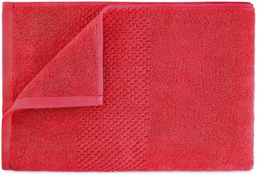 Spaces Essentials Swift Dry Bath Towel (Red, Bath Towel)