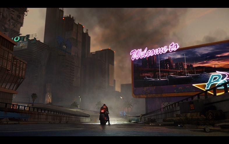 Cyberpunk 2077 Standard Edition For PS4