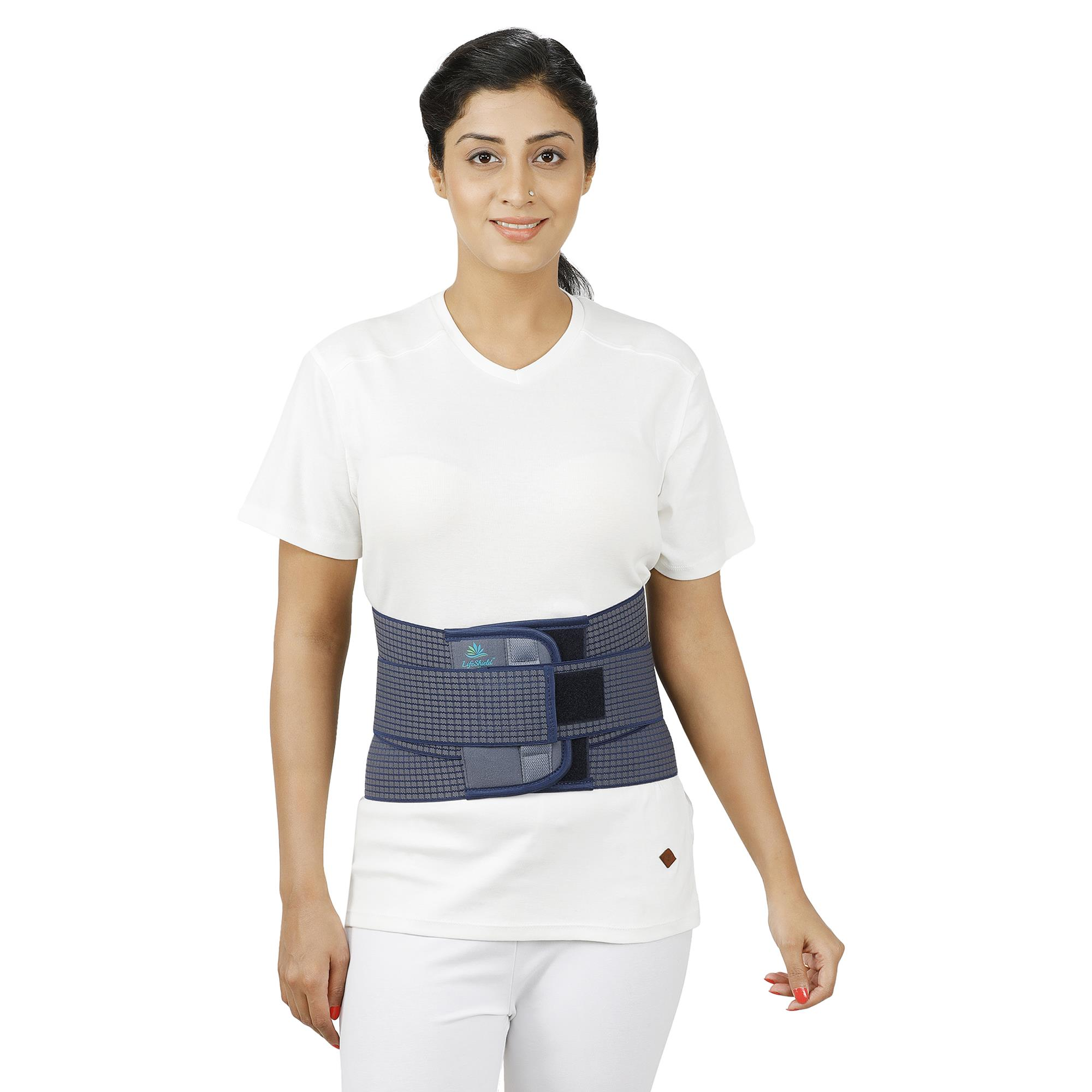Lifeshield Lumbo Sacral Support With Soft Padded Foam: Provides Back Support To Lumber Region (5X Large)