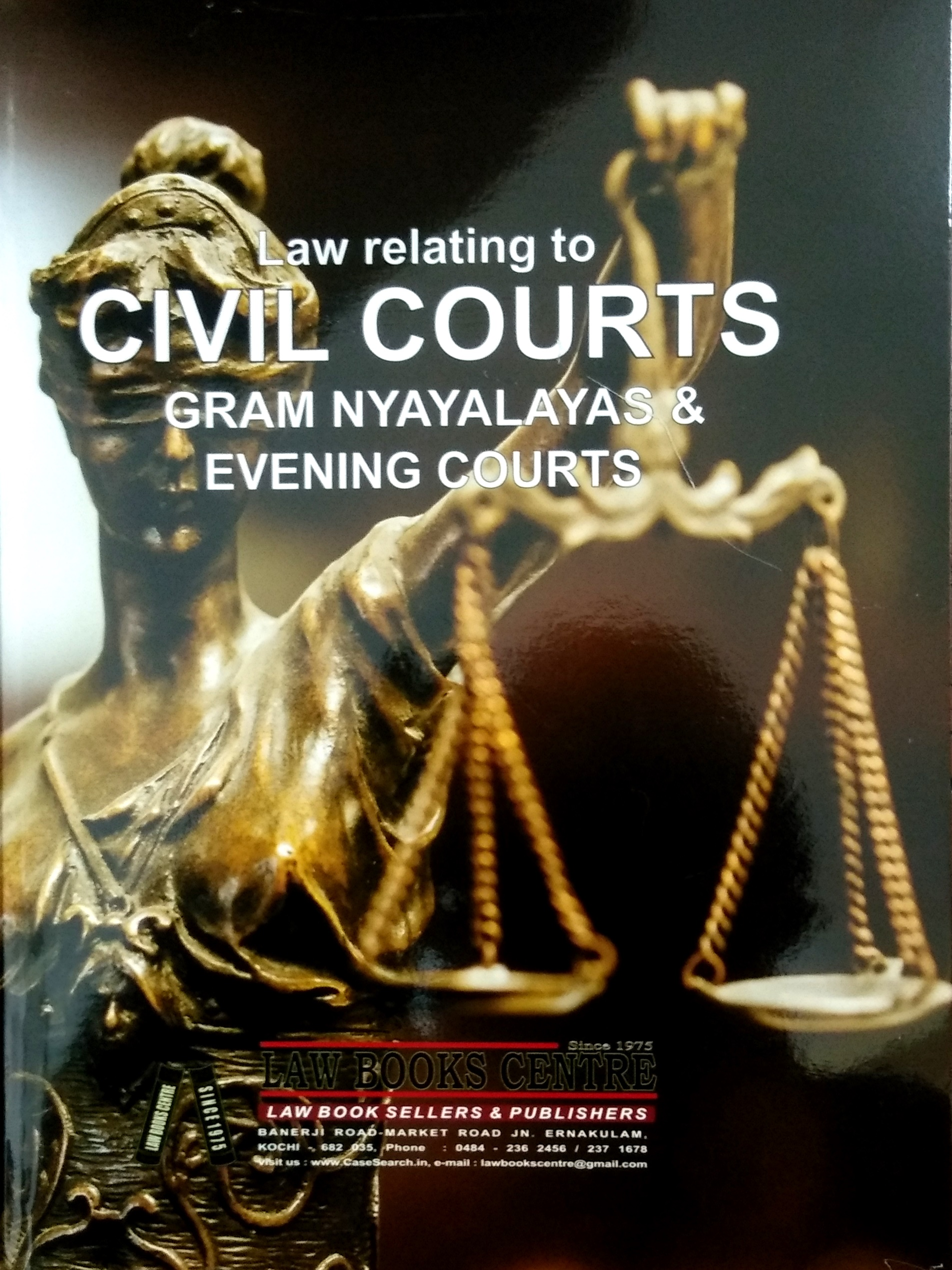 Law Relating To Civil Courts, Gram Nyayalayas & Evening Courts (6th Edn. 2021)